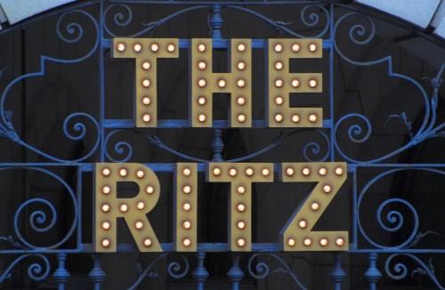 ritz hotel sign