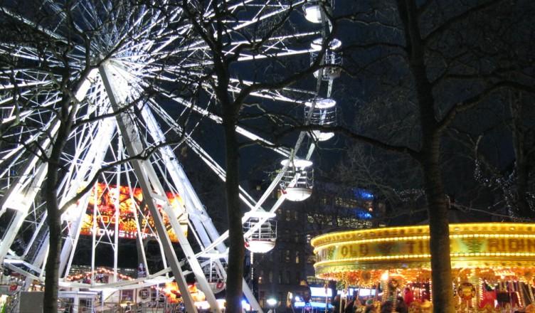 fun fair in leicester square