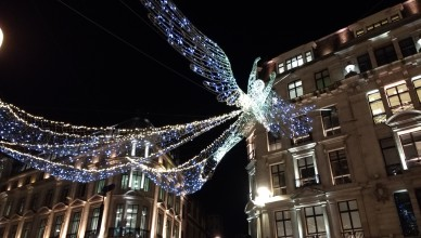 Natale a Londra luci di Natale