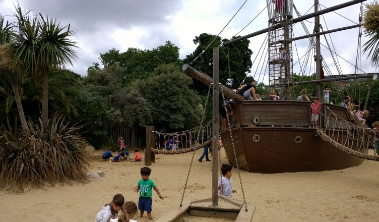 Kensington Gardens playground